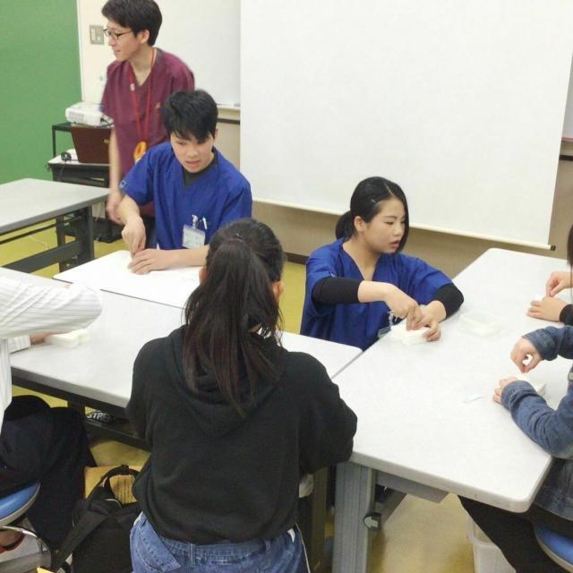 神戸医療福祉専門学校中央校 【鍼灸科】オープンキャンパス1