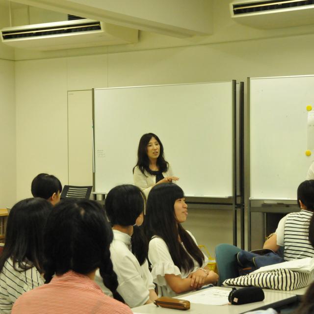 華頂短期大学 7/16 Class Visit Day1