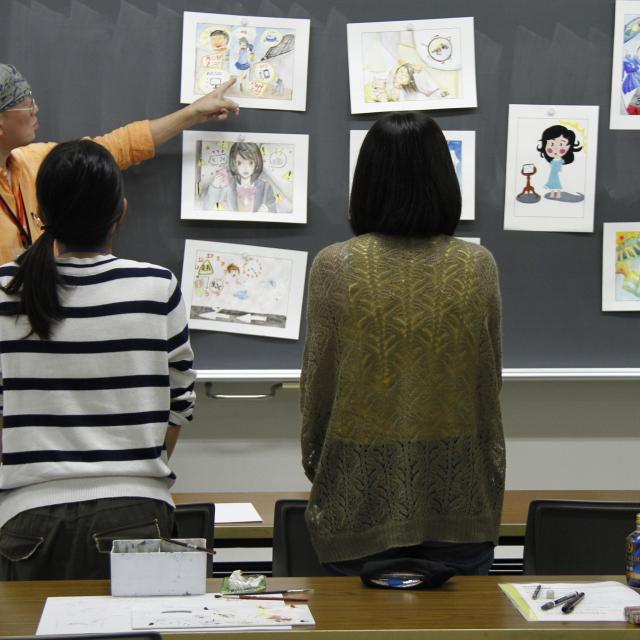 嵯峨美術短期大学 入試対策実技講習会3