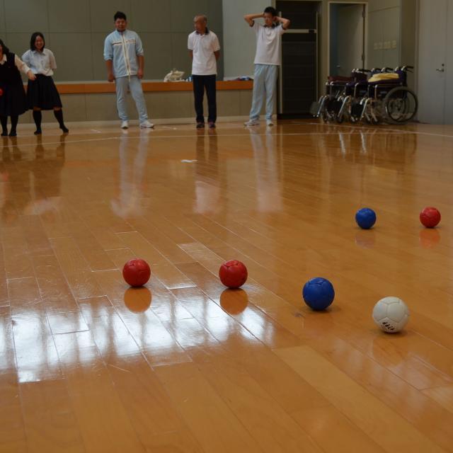 京都福祉専門学校 オープンキャンパス ~ 介護体験とボッチャボール ~3