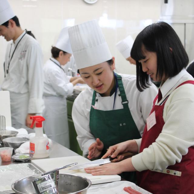 中央調理製菓専門学校静岡校 体験入学2