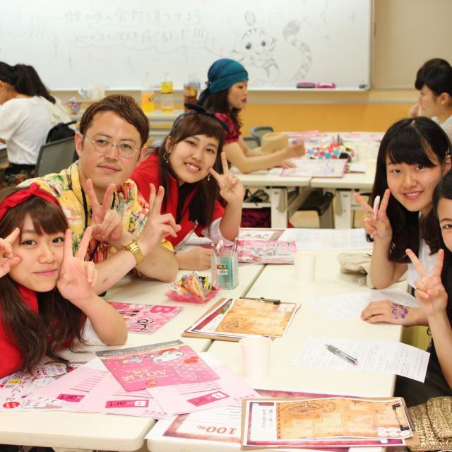 横浜ビューティー&ブライダル専門学校 【ヘアメイク】ヘアアレンジ・特殊メイク☆高校2年生も歓迎♪1