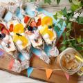 札幌ベルエポック製菓調理専門学校 【カフェ体験】フルーツたっぷり♪フルーツサンド&サンライズ