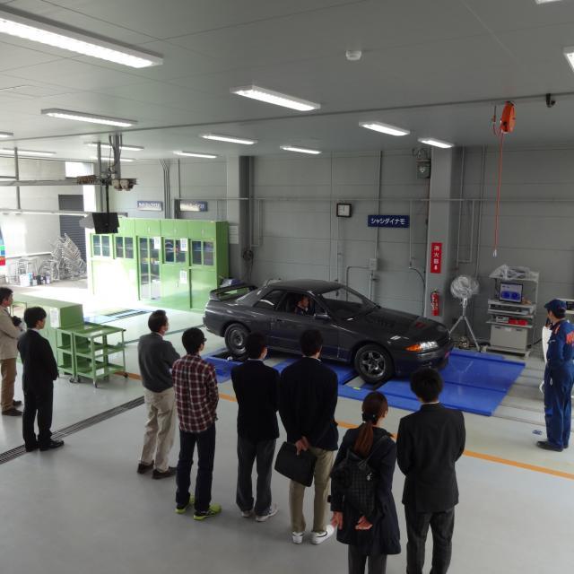 専門学校 花壇自動車大学校 2018 学校見学会3
