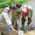 日本自然環境専門学校 魚類調査と水質調査