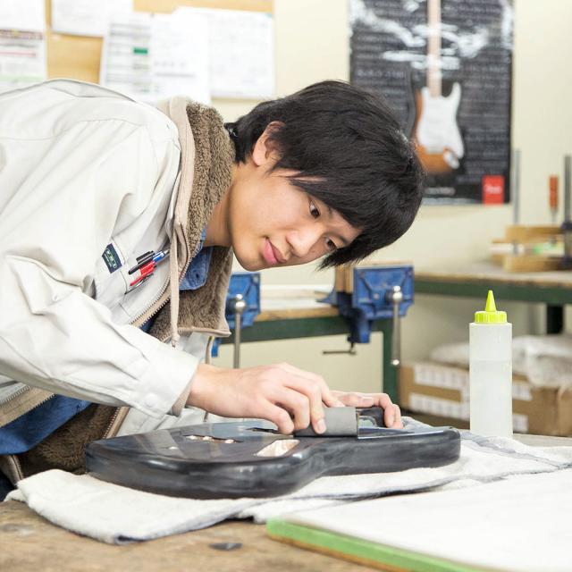 中部楽器技術専門学校 高1~3・再進学・社会人【ギタークラフトコース】2