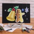 東京スクール・オブ・ビジネス チョークアートでクリスマスを演出♪