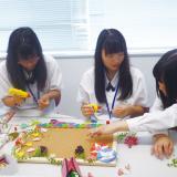 花を飾ってプチおもてなし【医療秘書学科体験】の詳細