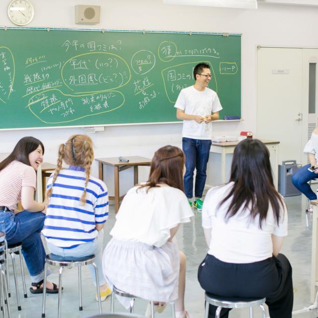 山野美容芸術短期大学 卒業生トークライブ×通常授業見学×入試対策講座1