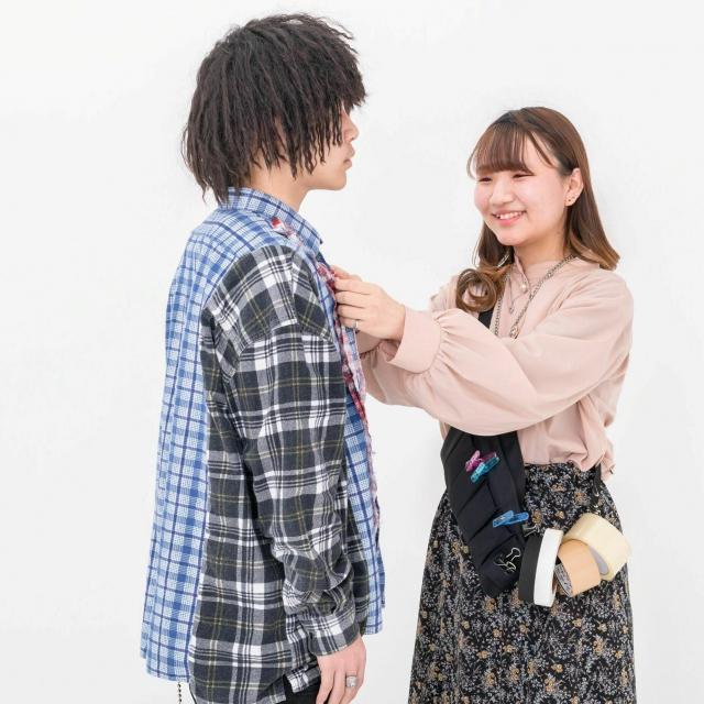 華服飾専門学校 在校生によるパネルディスカッション+スタイリスト体験1