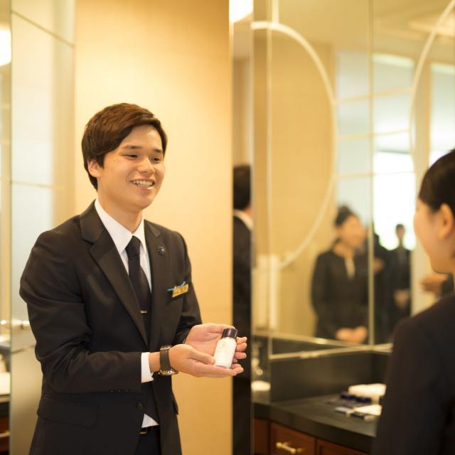 札幌観光ブライダル・製菓専門学校 一流のサービスが提供できるホテルスタッフを目指そう☆3