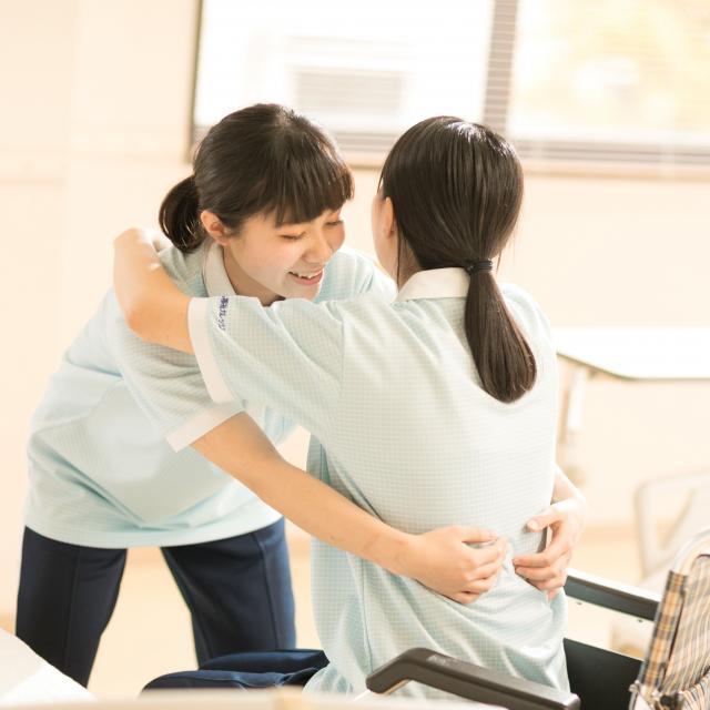 長岡こども福祉カレッジ 【介護福祉士】mewでわくわく★オープンキャンパス!3
