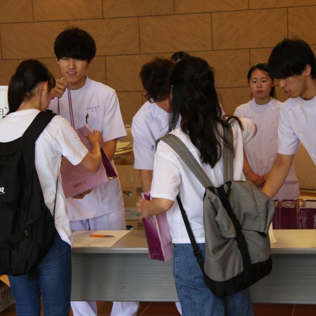 白鳳短期大学 オープンキャンパス3