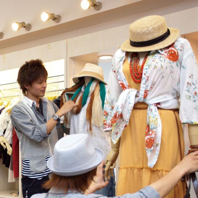 8月の体験入学(ファッションビジネス)