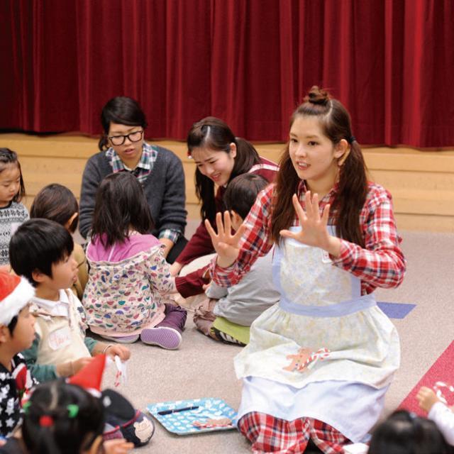 日本外国語専門学校 児童英語教室見学会(マジックワールド)1
