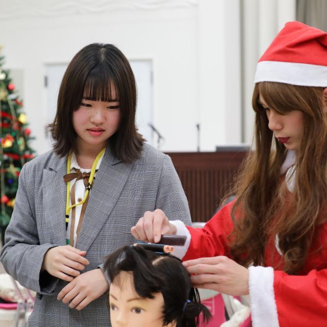 旭美容専門学校 12/16(日)クリスマスSP4