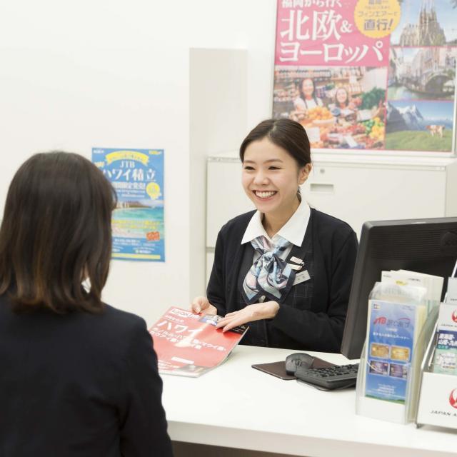 西鉄国際ビジネスカレッジ 海外旅行の達人になれる!出入国など海外旅行の手続を学ぶ2