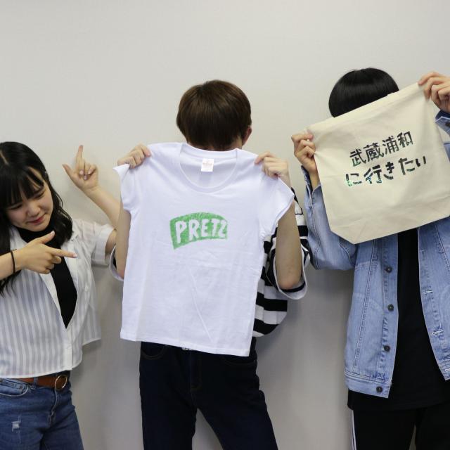 専門学校ファッションカレッジ桜丘 【体験実習B】ハンドプリントTシャツ製作2