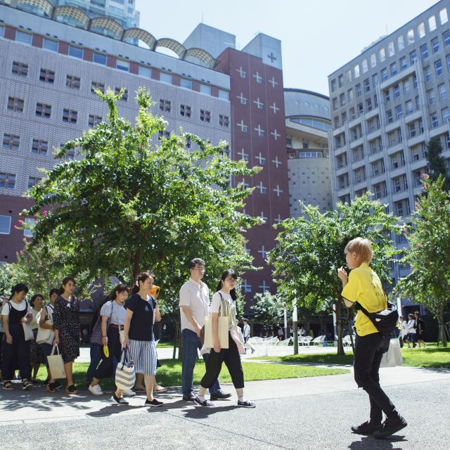 明治学院大学 夏のオープンキャンパス(白金キャンパス)3