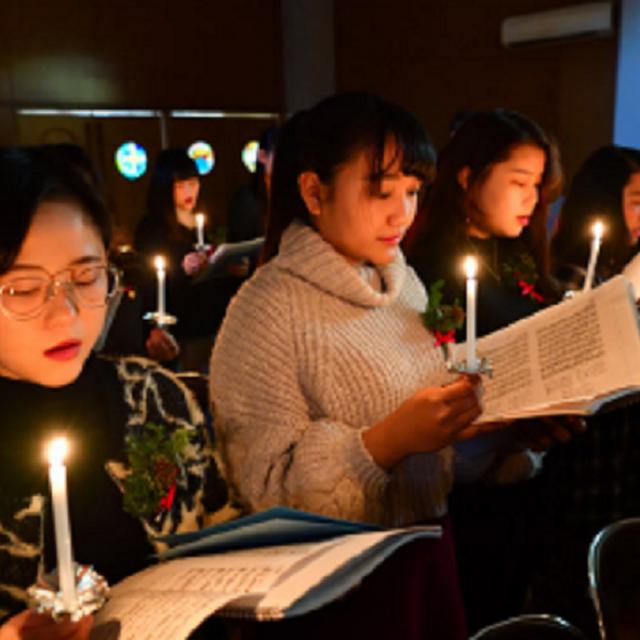 玉成保育専門学校 クリスマス礼拝(行事体験) 個別相談会1