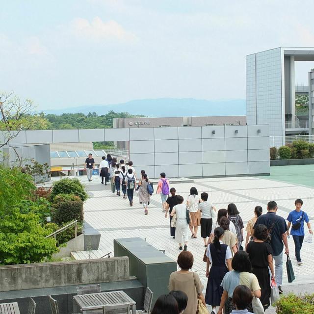 帝塚山大学 オープンキャンパス1