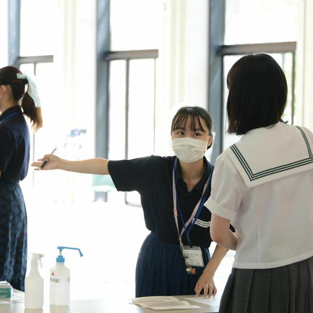 日本赤十字秋田短期大学 2021秋のミニオープンキャンパス1