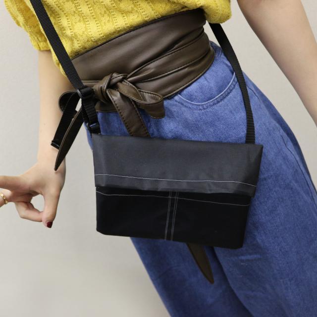 専門学校ファッションカレッジ桜丘 【体験実習B】サコッシュ製作1