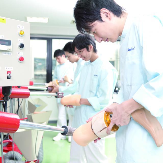 オープンキャンパス(義肢装具学科)