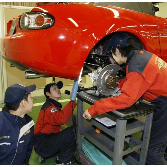 専門学校 水戸自動車大学校 整備士ってカッコいい♪【水戸自動車】の体験実習!2