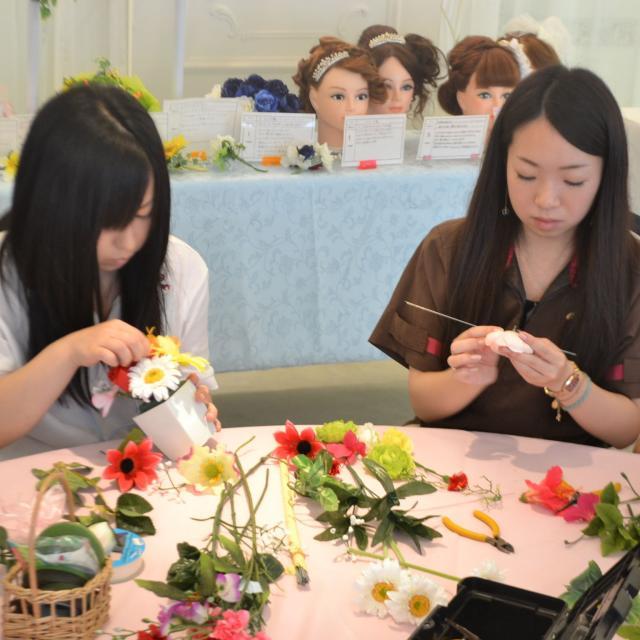 沖縄ブライダル&ホテル観光専門学校 夏休みのオープンキャンパス☆彡2