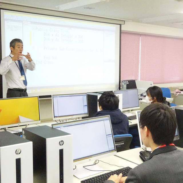 あいちビジネス専門学校 E:プログラマ&SEのおシゴト体験3