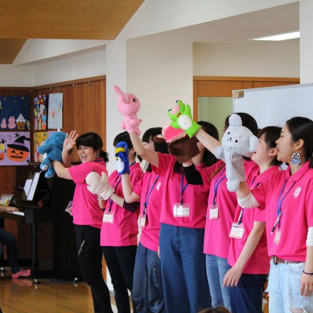 京都保育福祉専門学院 音楽リズム遊び♪心も身体もリフレッシュ!2
