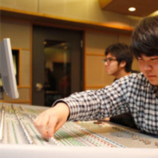日本コンピュータ専門学校 レコーディングに挑戦!1
