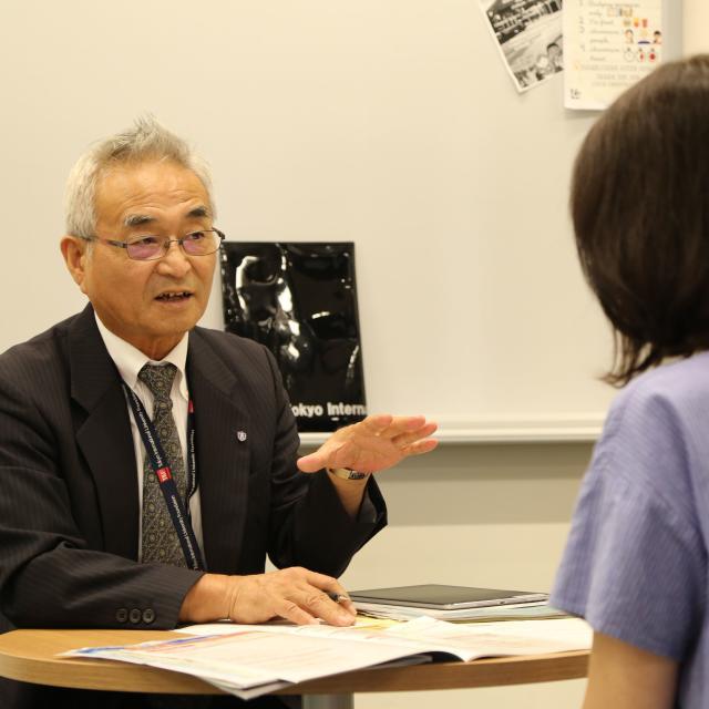 東京国際大学 TIU 受験相談会1