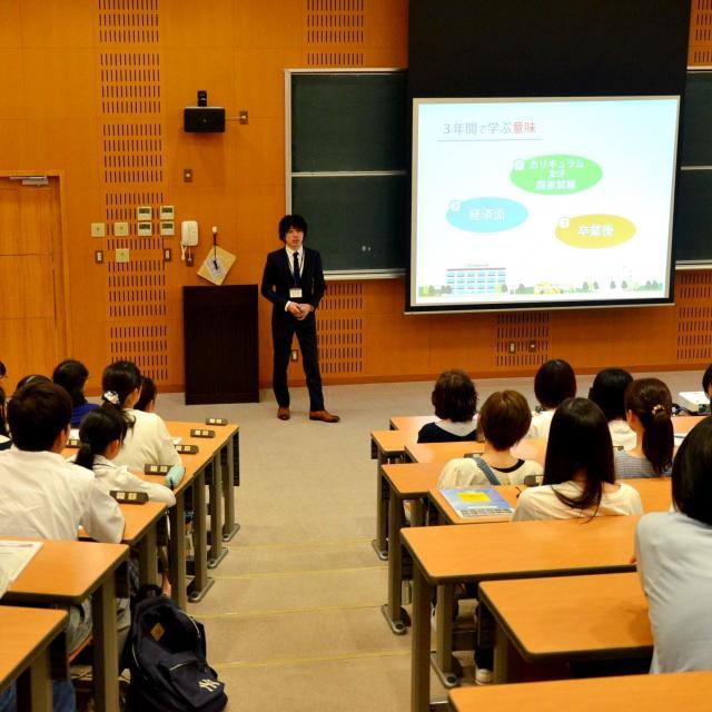 四国中央医療福祉総合学院 オープンキャンパス2