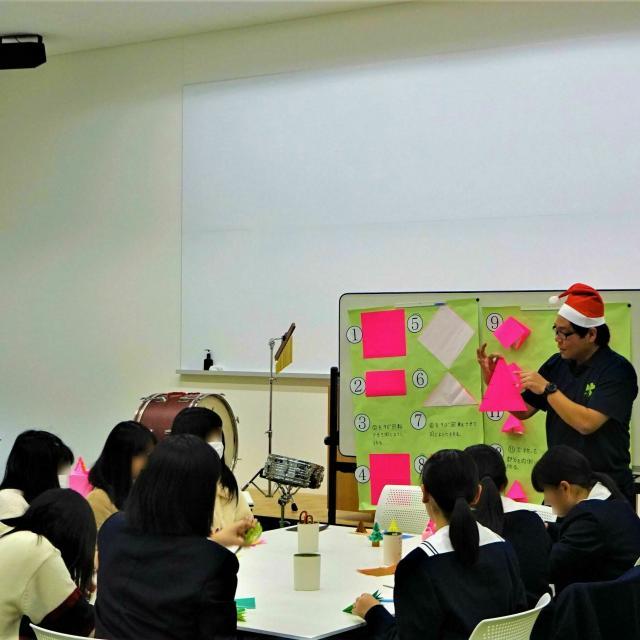 松山東雲短期大学 ☆彡クリスマス・オープンキャンパス ☆彡4