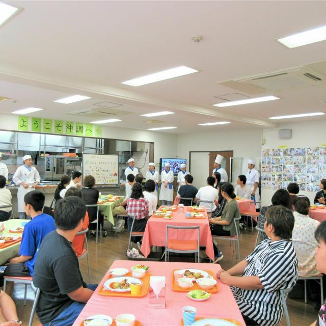 沖縄調理師専門学校 学校施設見学と美味しいランチセットの沖調楽しみツアー2