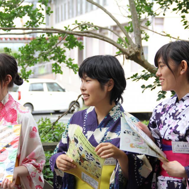 山口県立大学 夏の初めのオープンキャンパス20181