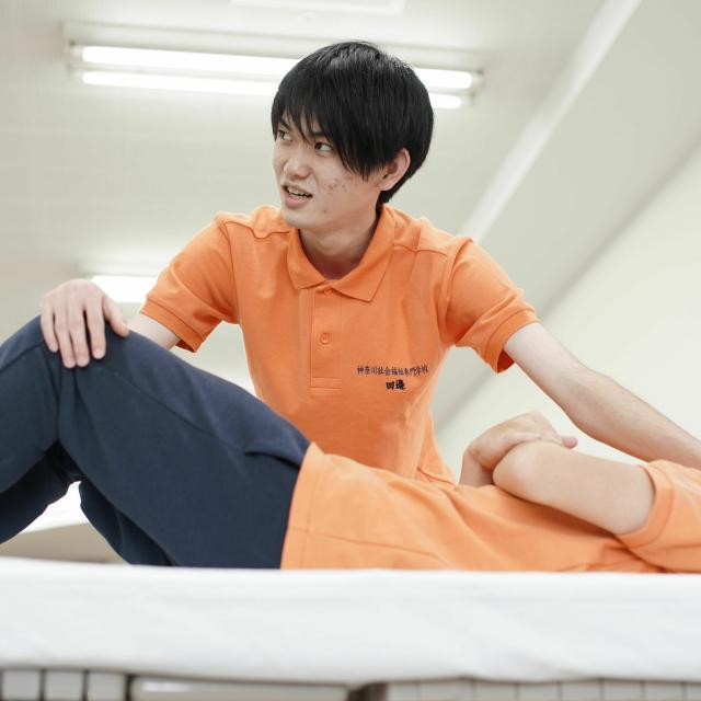 神奈川社会福祉専門学校 食事を科学する2