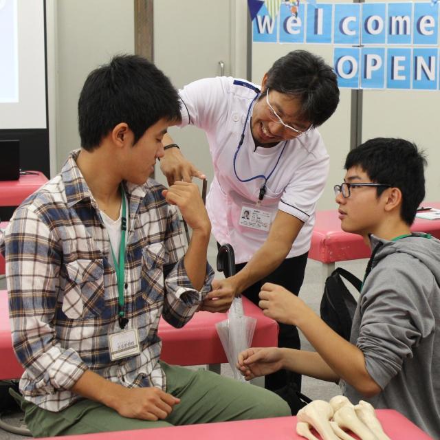 専門学校 星城大学リハビリテーション学院 体感授業型オープンキャンパス1