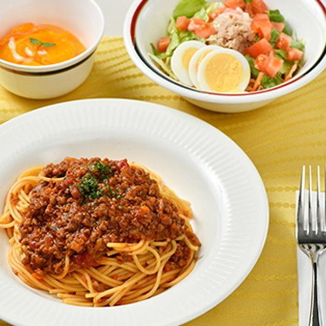 織田調理師専門学校 【5月11日 Bコース】給食作り体験「ミートソース」1
