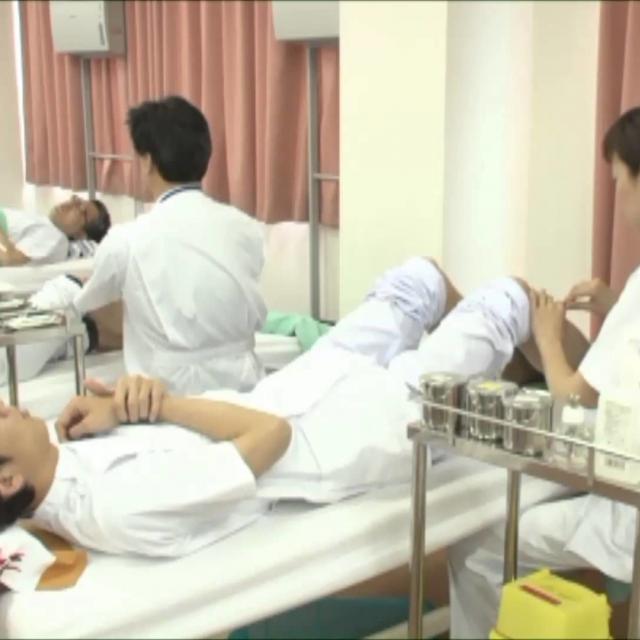 東洋鍼灸専門学校 夜間部のはり灸実技授業を見学しよう!1