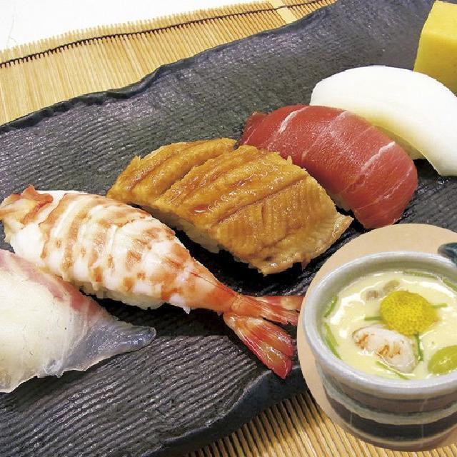 辻調理師専門学校 日本料理『にぎり寿司』『茶碗蒸し』にチャレンジしよう♪1