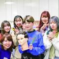 足利デザイン・ビューティ専門学校 美容総合科:《高校2・1年生向け》美容師国家試験課題を体験!