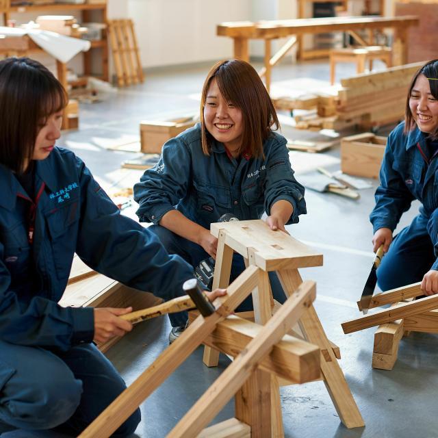 日本工科大学校 【大工コース】建築職人マイスター専攻科2