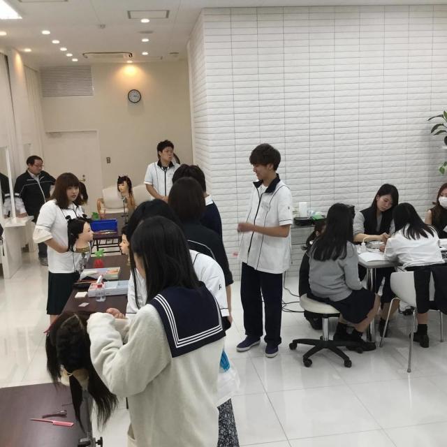 仙台ヘアメイク専門学校 オープンキャンパス20183