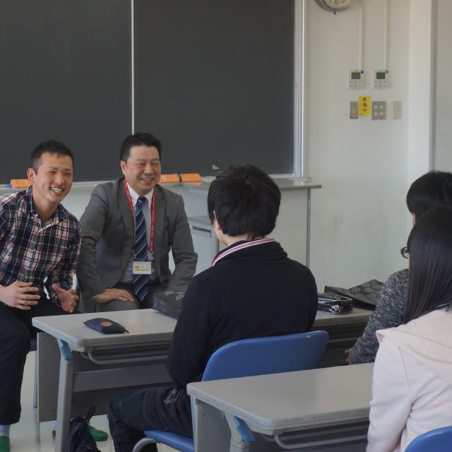 吉田学園情報ビジネス専門学校 【公務員学科】オープンキャンパス(宿泊便)3