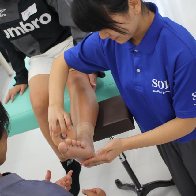 SOLA沖縄保健医療工学院 柔道整復師学科3