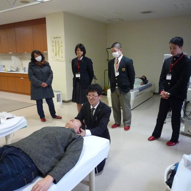 四国医療専門学校 柔道整復学科 オープンキャンパス20183