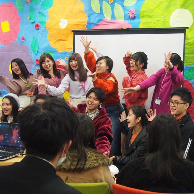 名古屋外語・ホテル・ブライダル専門学校 OPEN CAMPUS 留学コースへ参加!1